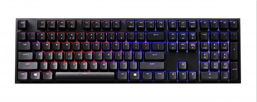 Red vs. Blue? With Cooler Master Quick Fire XTi Mechanical Keyboard, You Don't Have to Choose