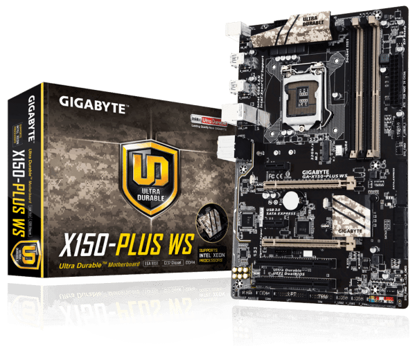 GIGABYTE Announces Two New Workstation Motherboards and BRIX Mini-PC Updates at CES 2016