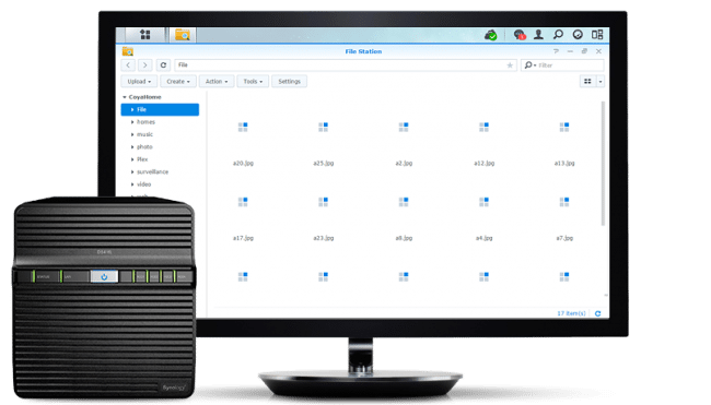 The Synology Diskstation DS416j Gives 4-Bays on a Budget at CES 2016