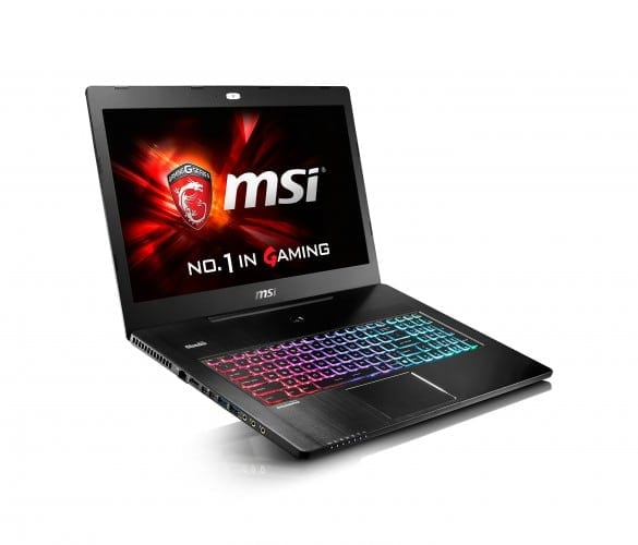 MSI Notebooks Bring the Power at CES 2016