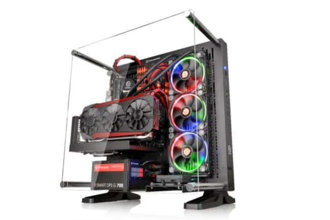Computex 2016: The Writing's on the Wall for Thermaltake's New Core P3 Chassis