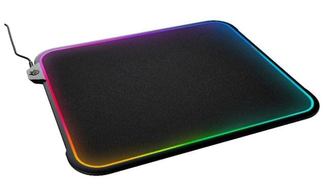 SteelSeries QcK Prism RGB Mousepad Lights Your Fire