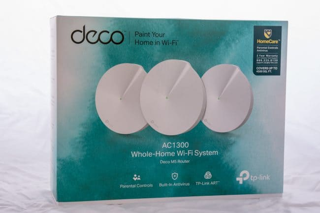 TP-Link Deco M5 Whole Home Wi-Fi System Review