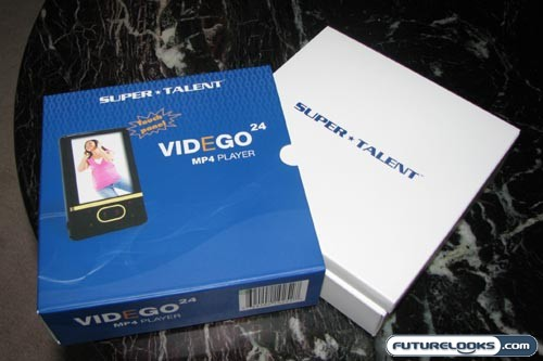 Super Talent VIDEGO24 MP3 Player Review