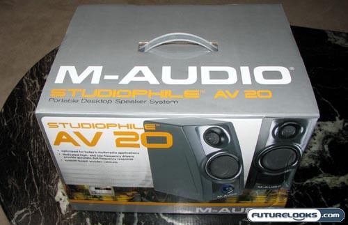 M-Audio Studiophile AV 20 Portable Desktop Speaker System Review