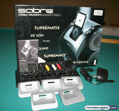 boynq Sabre iPod Integrated Stereo Speaker and Dock Review