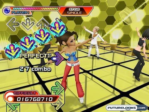 Dance Dance Revolution Hottest Party for the Wii