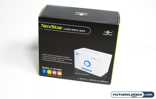 Vantec NexStar eSata/USB Hard Drive Dock Review