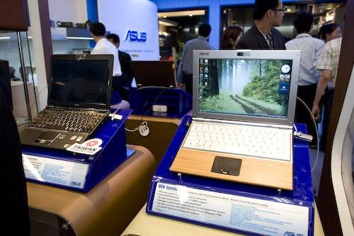 COMPUTEX 2008 Spotlight - Asus Laptops Love Montevina and Gaming