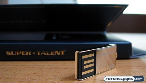 Super Talent PICO-C Gold 8GB USB Flash Drive Review