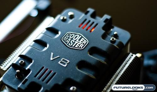 CoolerMaster V8 CPU Cooler Review