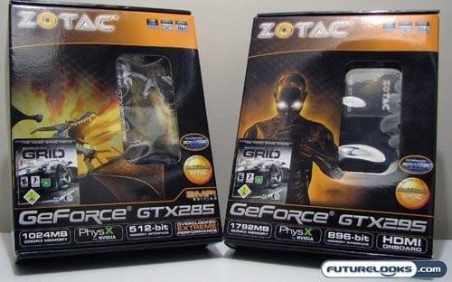 ZOTAC GeForce GTX285 and GeForce GTX295 Video Card Review