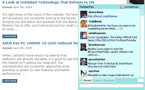 Futurelooks' Guide to Twitter Clients For the Desktop
