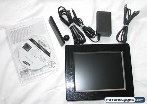 Samsung SPF-85V Digital Photo Frame Review