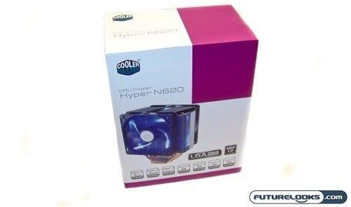 Cooler Master Hyper N620 CPU Cooler Review