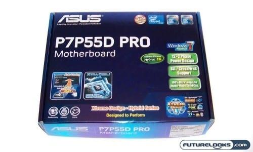 ASUS P7P55D PRO LGA1156 ATX Motherboard Review