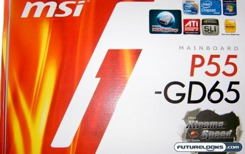 MSI P55-GD65 Xtreme Speed Motherboard Review