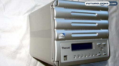 Thecus N0503 ComboNAS Network Attached Storage Enclosure Review