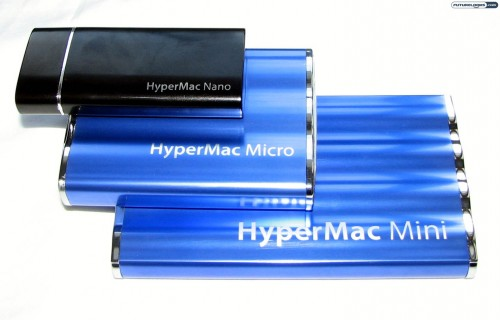 HyperMac Mini, Micro, and Nano Portable Batteries Reviewed