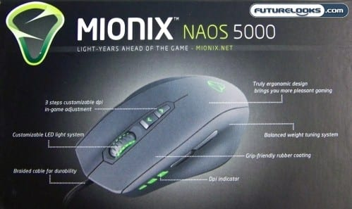 Mionix NAOS 5000 Gaming Mouse Review