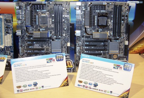 IDF 2010 - GIGABYTE Goes For Gold With a First Look at their New P67A Motherboard Series