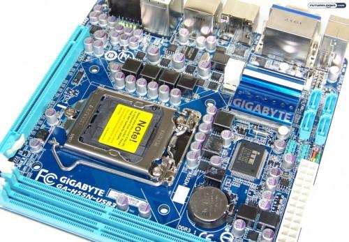 GIGABYTE GA-H55N-USB3 Mini-ITX Motherboard Review