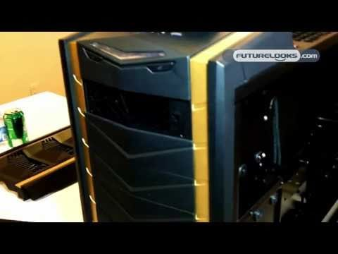 CES 2011 Video Coverage - Silverstone Unveils the FT03, TJ08 Evolution, TJ11 and RV03 Computer Enclosures