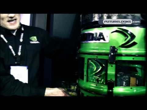 CES 2011 Video Coverage - nVidia Shows Off Beer Dispensing Gaming System the KegPuter!
