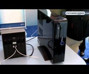 IDF 2010 Video Coverage - INTEL Demo of Light Peak's (Thunderbolt) Potential for Multi-IO and Multi-Protocol In Your Home