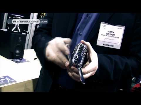 CES 2011 Video Coverage - SAMSON Technologies Shows Off The Meteor Mic USB Studio Microphone