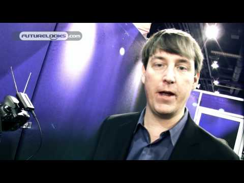 CES 2011 Video Coverage - SAMSON Shows Off The New AirLine Micro Wireless Camera Mic System