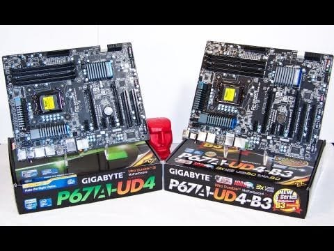 Video - A Quick Look At What Changed GIGABYTE's GA-P67A-UD4 B3 Revision Sandy Bridge Motherboard