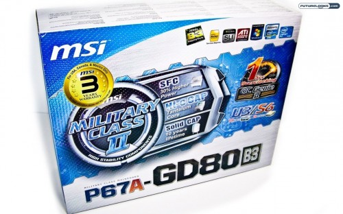 MSI P67A-GD80 LGA1155 Sandy Bridge ATX Motherboard Reviewed