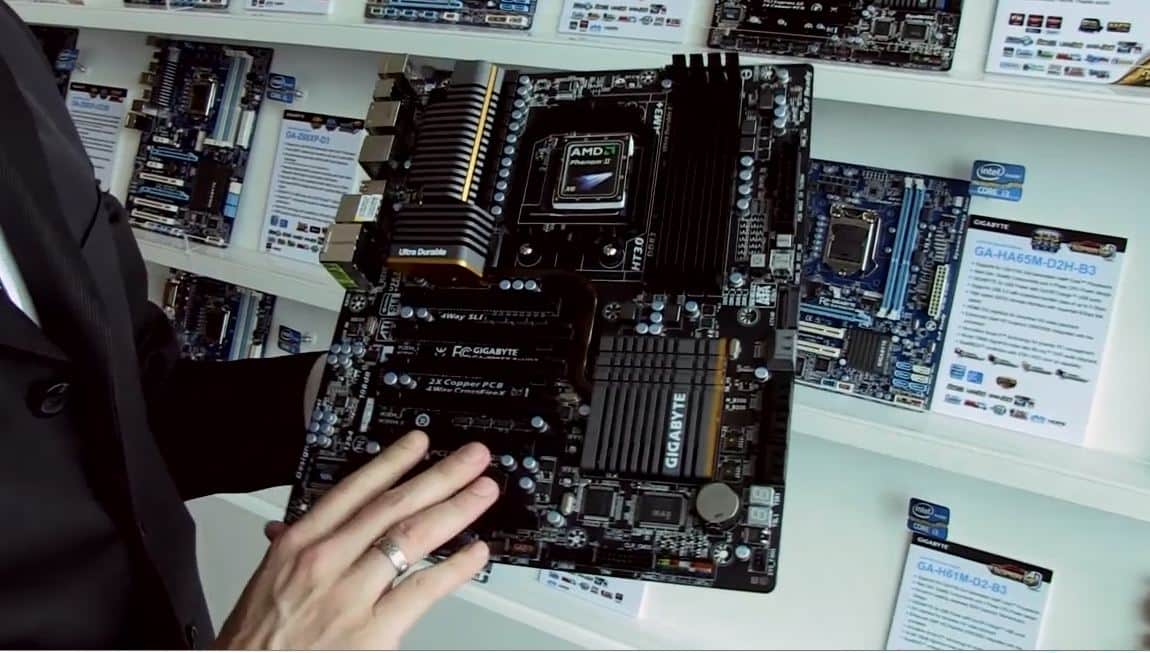 COMPUTEX 2011 Video Coverage - GIGABYTE Unveils New AMD 990FX and Llano Motherboard Platforms