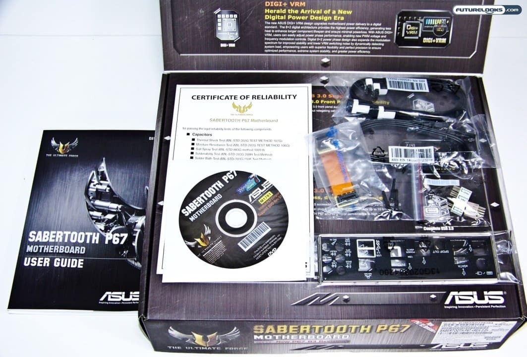 ASUS Sabertooth P67 (B3 Revision) LGA1155 Sandy Bridge ATX Motherboard Review