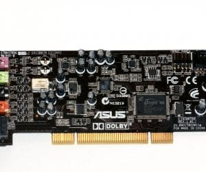 ASUS Xonar DG 5.1 Channel PCI Sound Card Review
