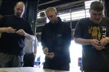 LANcouver 2011 - Futurelooks Presents the NZXT Pencil Sharpening Challenge (Video Coverage)