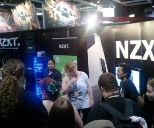 PAX 2011 (PAX Prime) Seattle (Video) - NZXT Shows Tempest Elite 410, Pink Phantom and Sentry Mix Fan Control