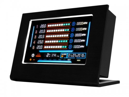 Video - Futurelooks Unboxes the NZXT Sentry LXE Touch Screen Fan Controller