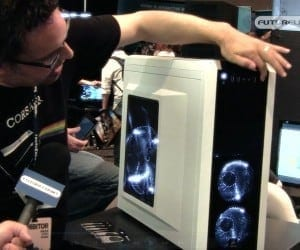 PAX 2011 (PAX Prime) Seattle - CORSAIR Shows Off Their Goods to Hardware Hungry Gamers (Video)