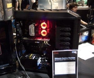 PAX 2011 (PAX Prime) Seattle - Rosewill Shows Off Thor V2 Case, 1300W PSU and RK-9000 Keyboard (Video)