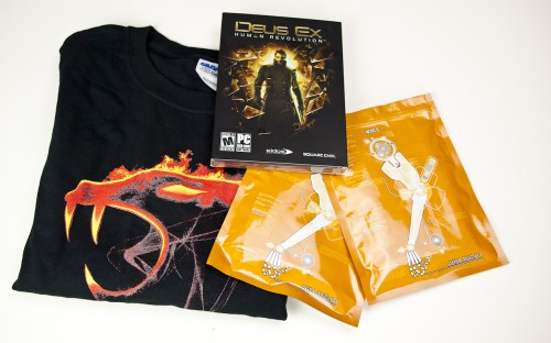 CLOSED - The Virtual PAX Prime 2011 Schwag Giveaway Part Two - Deus Ex Edition