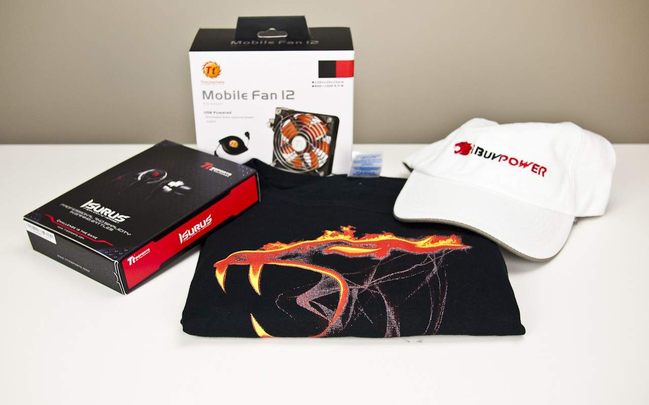 CLOSED - The Virtual PAX Prime 2011 Schwag Giveaway Part Four – Thermaltake Edition