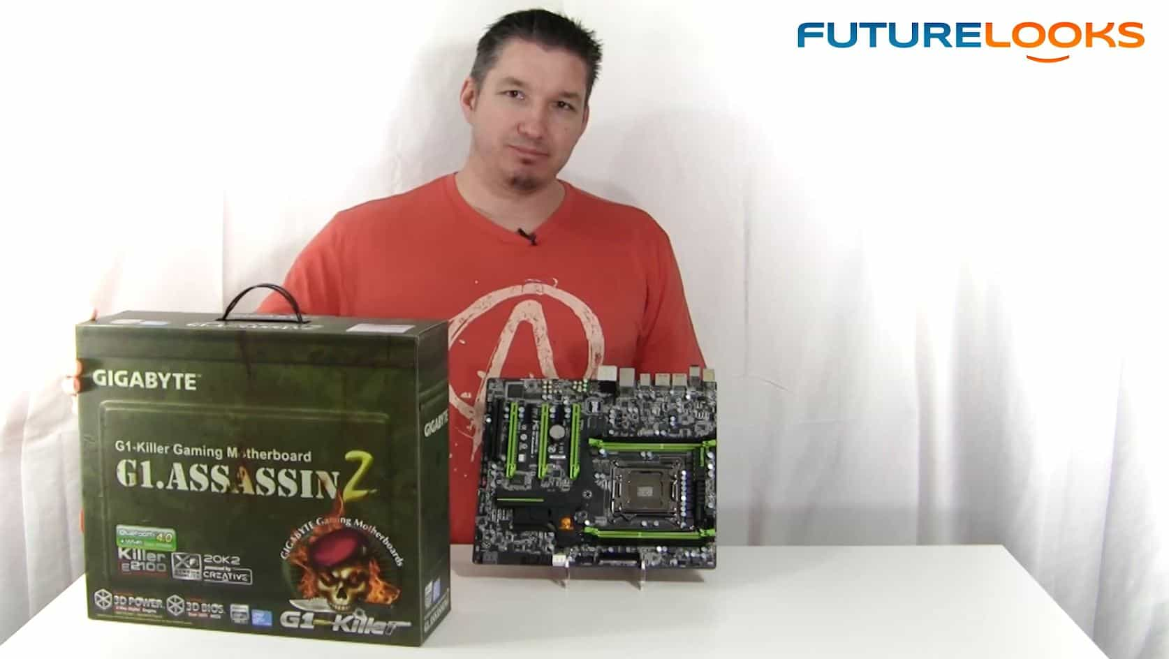 Futurelooks Unboxes the GIGABYTE G1.Killer Series Assassin 2 X79 Gaming Motherboard (Video)