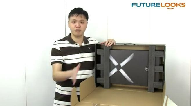 Futurelooks Unboxes the DELL XPS 15z Premium Performance Laptop (Video)