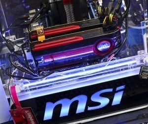 CES 2012 - MSI Shows Off HD 7970 GPU, New Cloud Overclock App, the X79 Big Bang XPower II Board and More (Video)