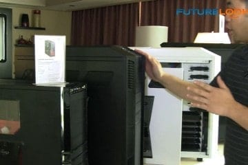 CES 2012 - Rosewill Shows Off a New White Thor V2, the Blackhawk Ultra Tower Case and New Notebook Coolers (Video)