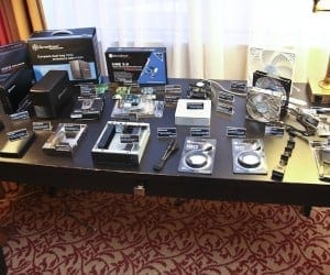 CES 2012 - Silverstone Shows Off New FT03 Mini, TJ04E, KL04E Cases and Refreshes GD Series HTPC Cases (Video)