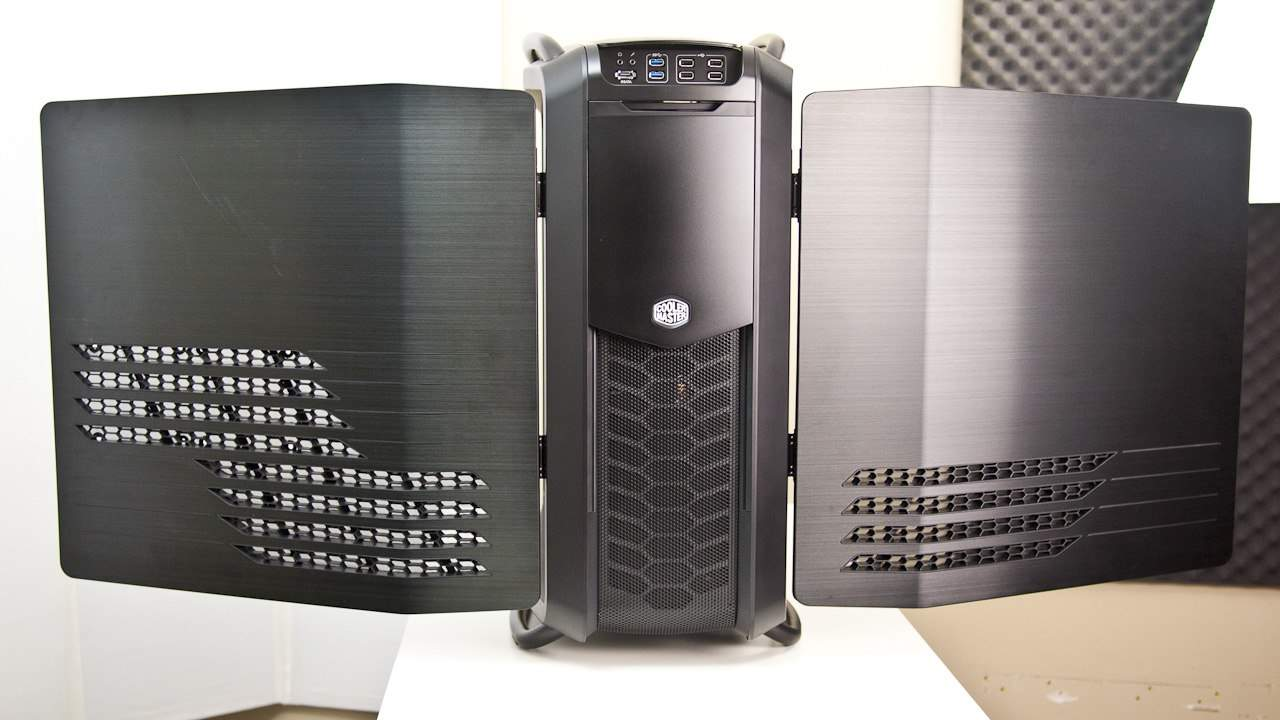 Futurelooks Goes Hands On With the NEW Cosmos II Ultra Tower Computer Chassis (Video)