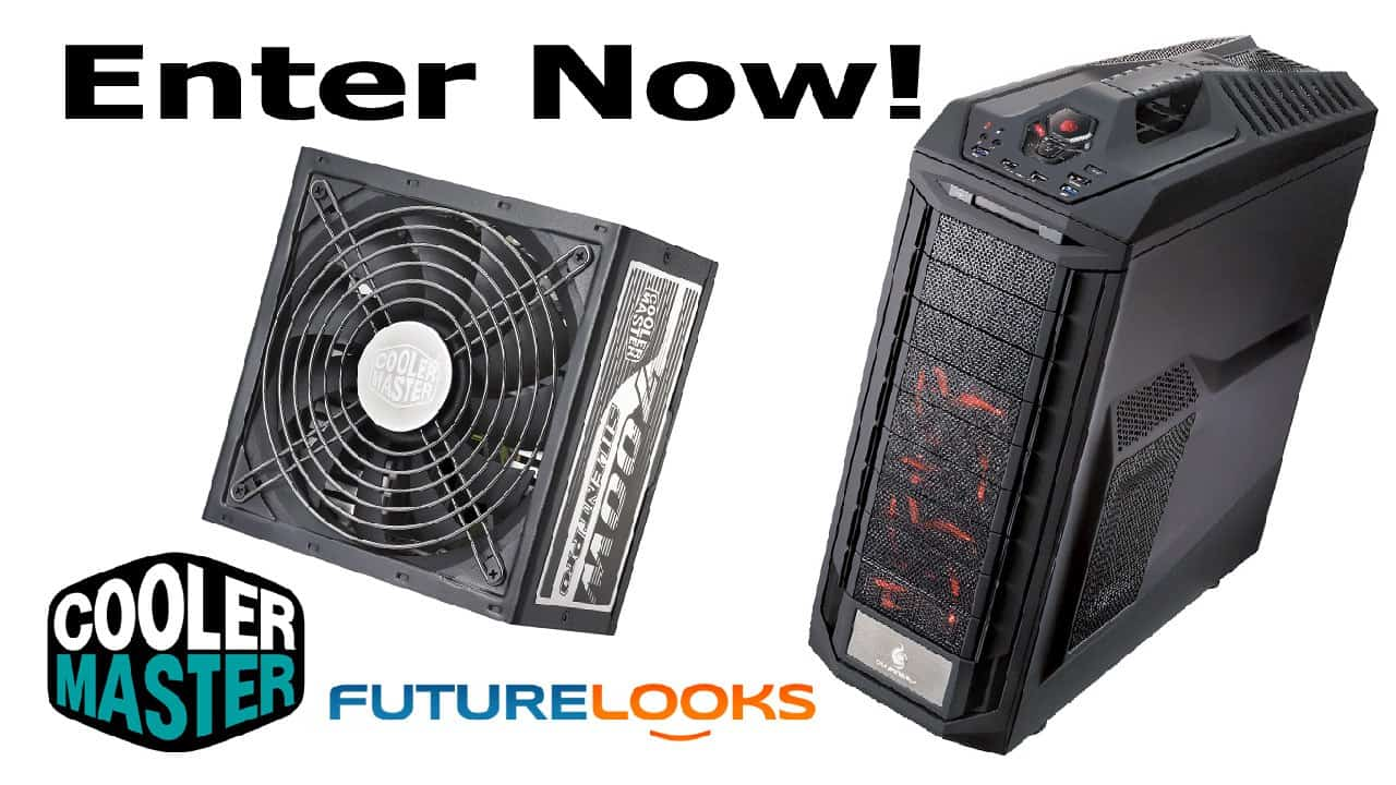 CLOSED - Futurelooks and Cooler Master Give Away a CM Storm Trooper Chassis and a Silent Pro M 700W Power Supply Combo!